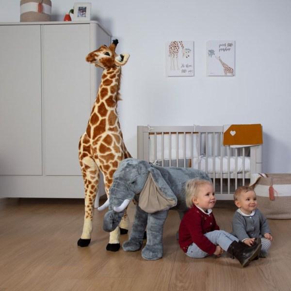 Wielki słoń zabawka - dekoracja pokoju dla dzieci
