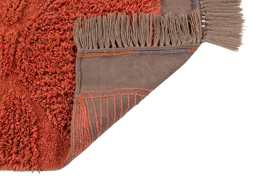 Narangu - prostokątny dywan do wnętrza w afrykańskim stylu - african design