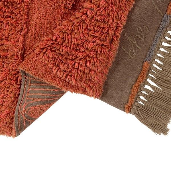 Narangu - prostokątny dywan do wnętrza w afrykańskim stylu - african style