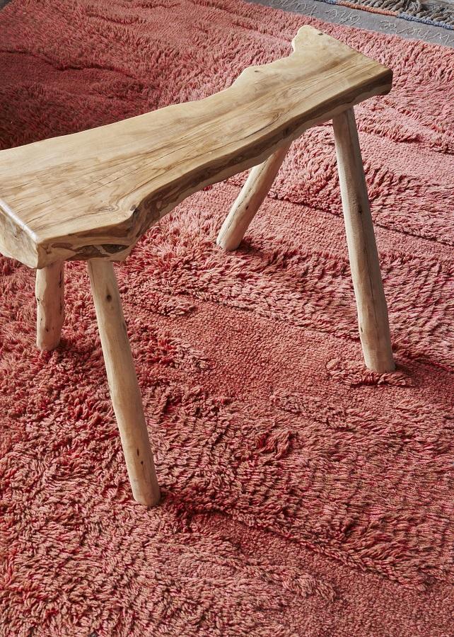 Narangu - prostokątny dywan do wnętrza w afrykańskim stylu - odważna stylizacja