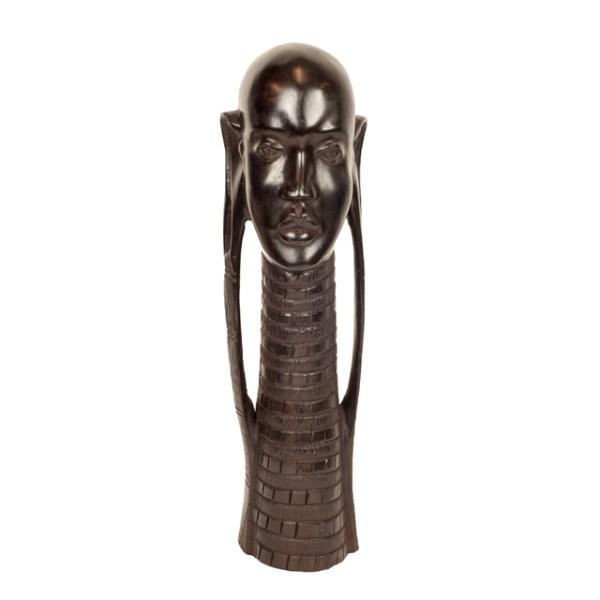 Piękna rzeźba Masajki z Tanzanii