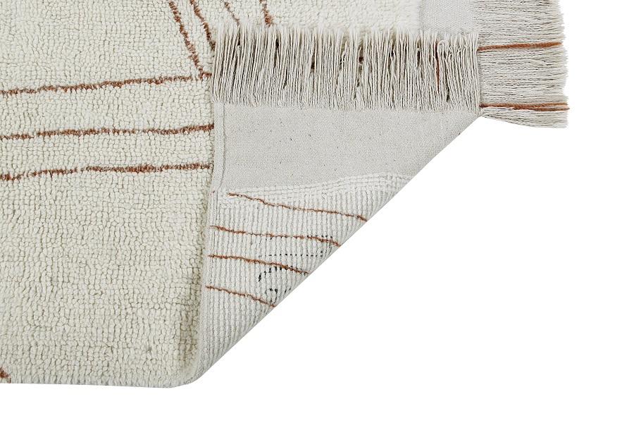 Shuka Seashell wełniany dywan z afrykańskiej kolekcji - african design