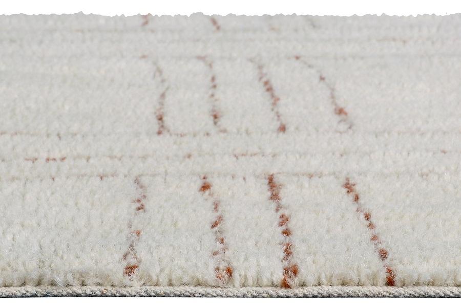 Shuka Seashell wełniany dywan z afrykańskiej kolekcji - oryginalne wnętrze african design