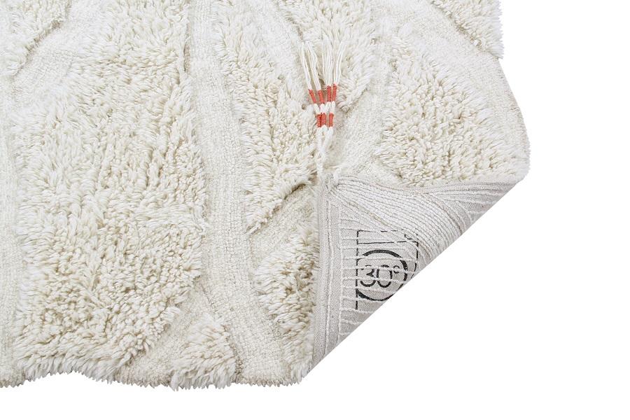 Wełniany dywan Enkang Ivory - afrykańska kolekcja w Twoim mieszkaniu