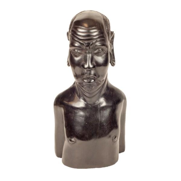 Hebanowa rzeźba z Afryki