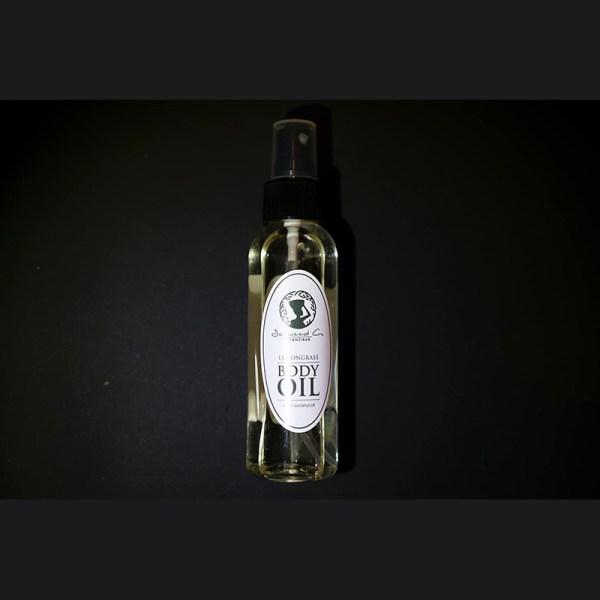 Afrykański olejek do ciała z trawą cytrynową 100 ml