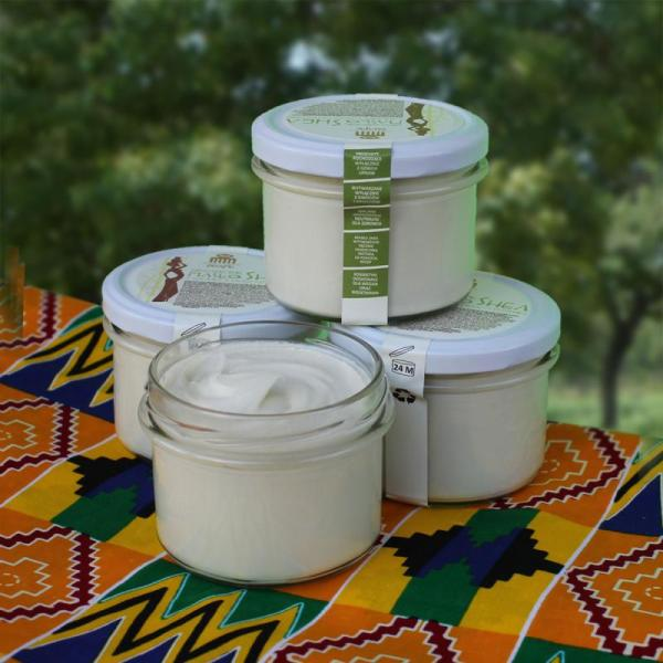 Afrykańskie masło Shea z dodatkiem trawy cytrynowej - 180 ml