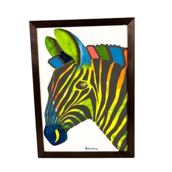 Obraz Tinga Tinga z zebrą