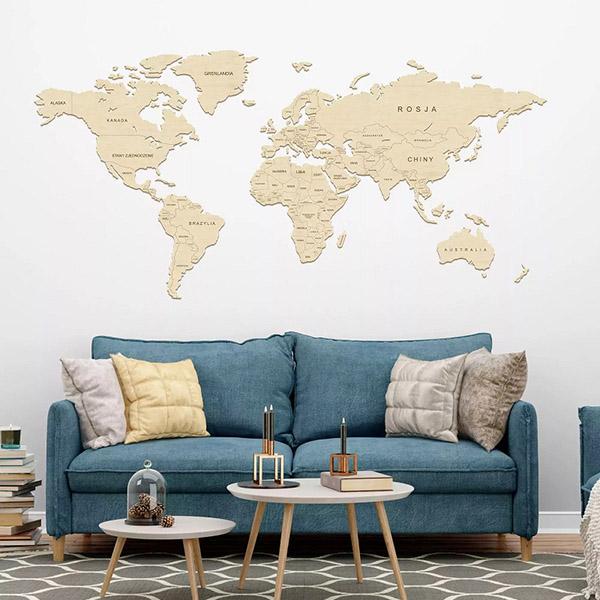 Mapy na ścianę