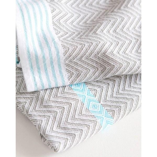 Bawełniany tkany ręcznik afrykański Tawulo