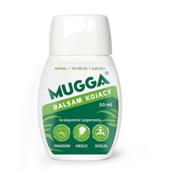 Mugga balsam kojący po ugryzieniu komara