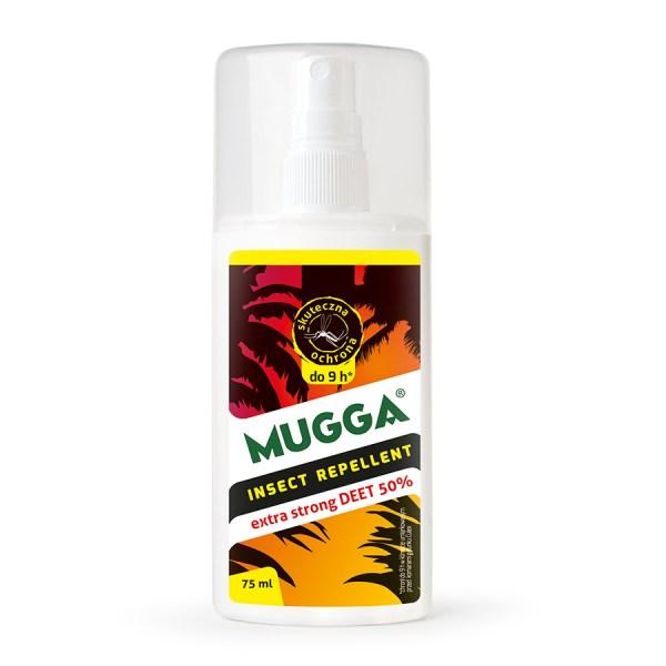 Mugga na komary do Afryki - repelent 50% Deet spray