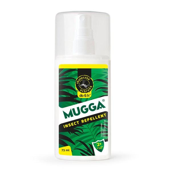 Mugga na komary w lesie - repelent 9,5% Deet spray
