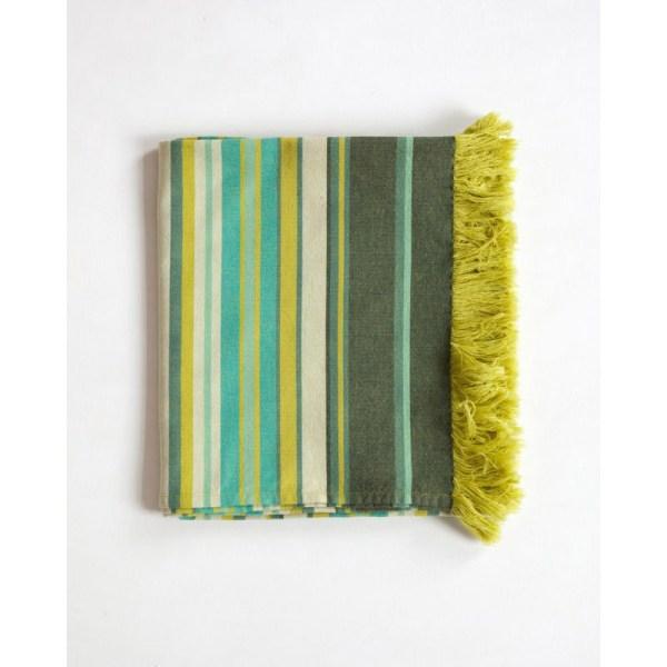 Okrycie z Afryki - kikoi - kolorystyka Seaweed