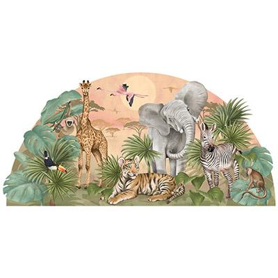 Naklejki na ścianę i tapety w stylu safari