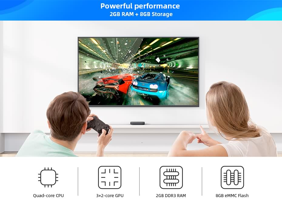 DreaMedia M1 4K android streaming player 14