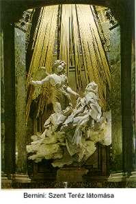 Bernini: Szent Teréz látomása