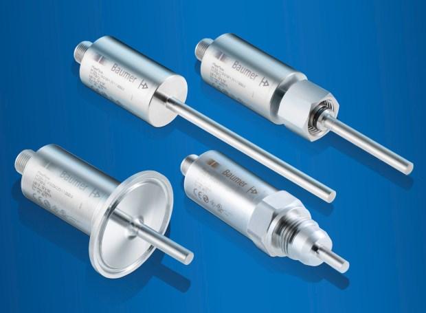 Fot.: Czujniki przepływu i temperatury FlexFlow dostępne są z różnymi złączami procesowymi oraz z sondami o różnej długości.