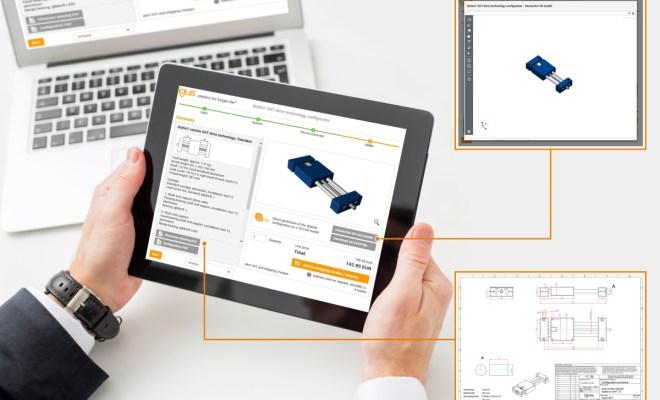 Mając do dyspozycji nowy konfigurator SHT drylin, nasi klienci w kilku krokach mogą skonfigurować swój własny moduł śrub napędowych jak również otrzymać widok 3D danego elementu, zwymiarowany rysunek techniczny PDF oraz model 3D CAD. (Źródło: igus GmbH)