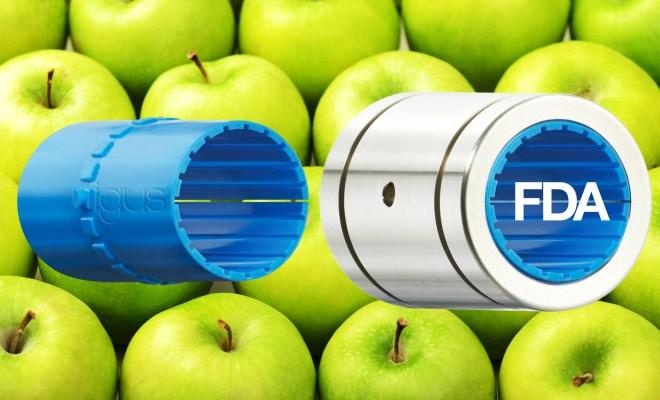 Zatwierdzona do kontaktu z żywnością: nowa wkładka wykonana z iglidur A160 firmy igus. (Źródło: igus Sp z o.o.)
