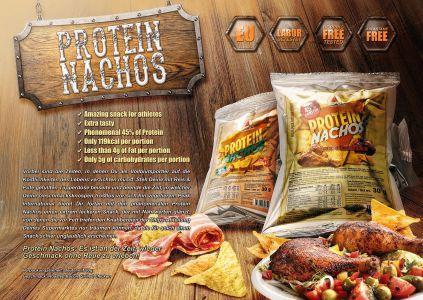 Protein Nachos katalóg oldal design