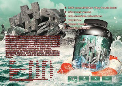 Whey H2O katalóg oldal design