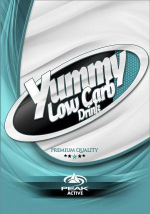 Yummy Low Carb Drink csomagolás címke
