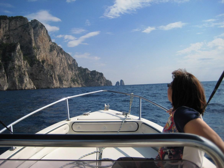 Italy – Boating in Capri