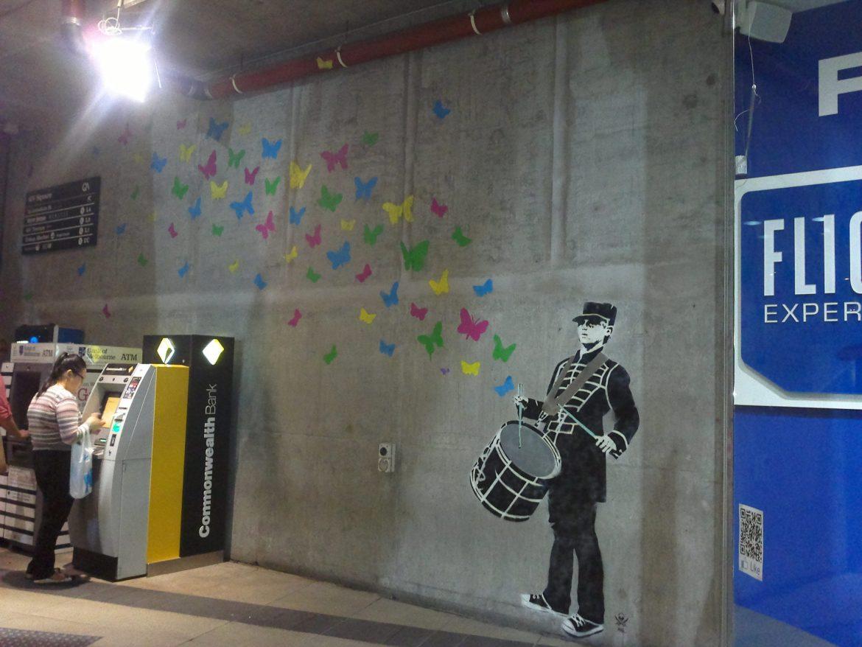 Street Art in QV Melbourne