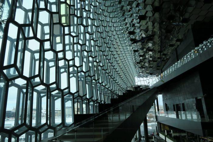 Harpa interior