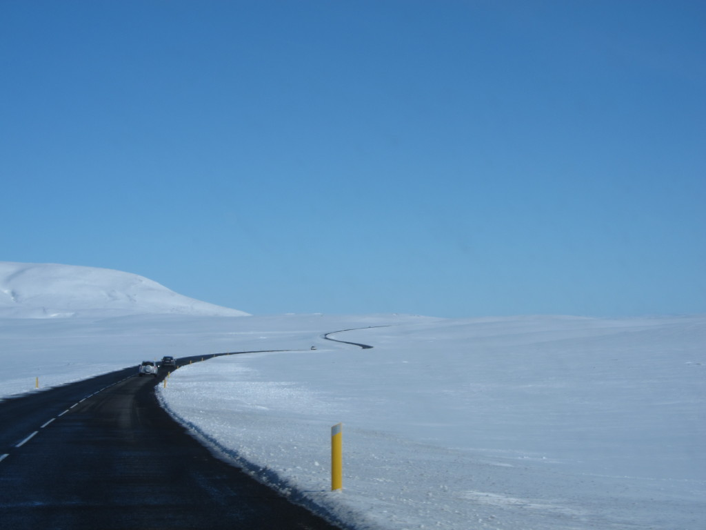 route to thigvellir