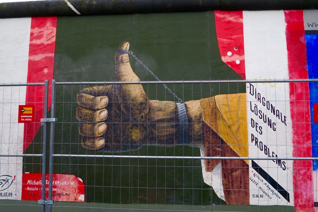 East Side Gallery – Fenced