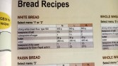 Egyszerű, fehér kenyér recept