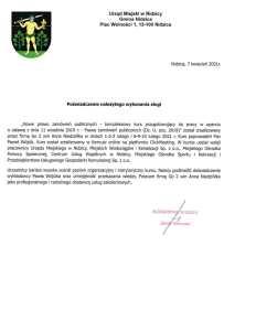 Referencje Urząd Miejski w Nidzicy