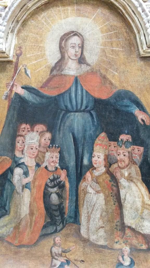 Pieśń do Patronki Parafii Szlachtowskiej Matki Bożej Pośredniczki Łask