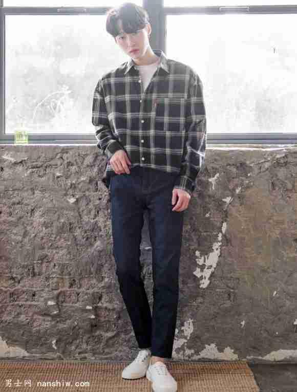 高瘦男生穿衣搭配技巧 穿不好180變160(一)_男裝搭配技巧_男士穿搭網