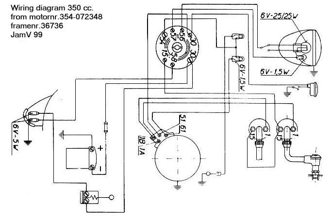 electrical jawa wiring diagram