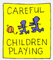 POSTER PLAYING KIDS
