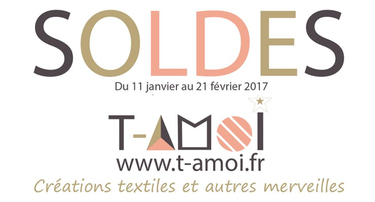SOLDES T-AMOI !