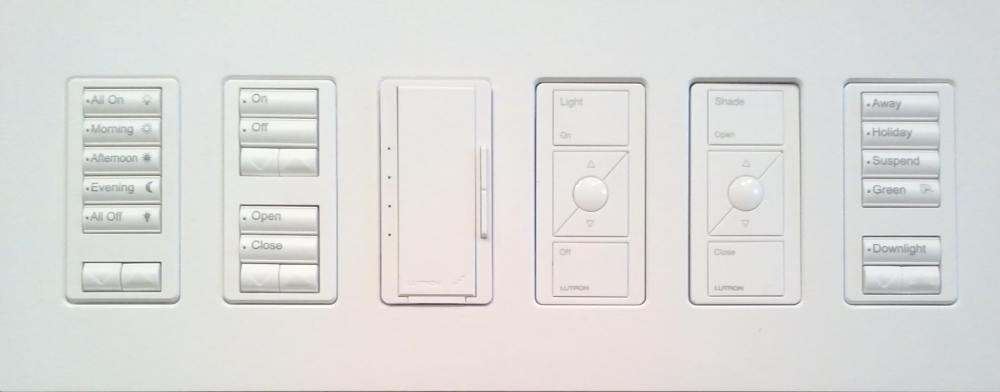 medium resolution of command center end wall acne forever with lutron s fabulous radiora 2 keypads lutron