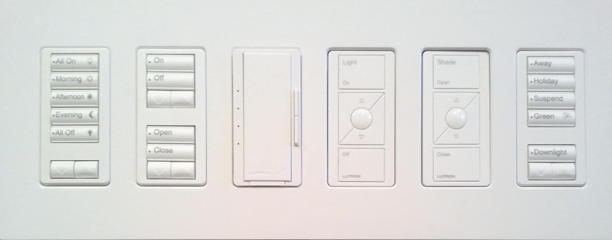 hight resolution of command center end wall acne forever with lutron s fabulous radiora 2 keypads lutron