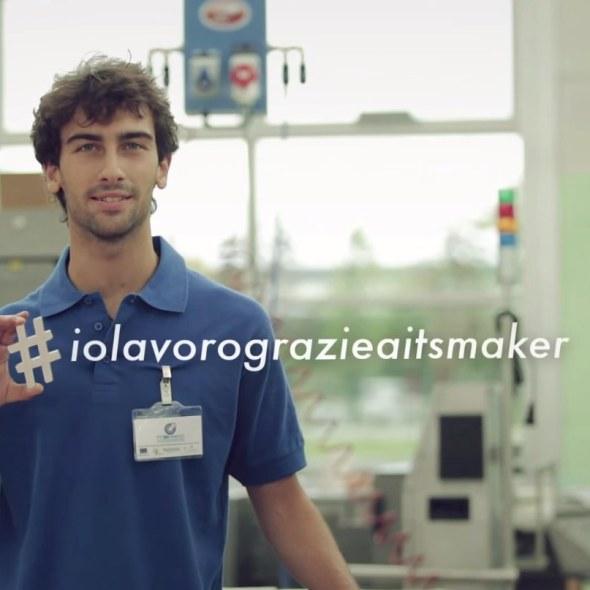 #iolavoroconitsmaker spot tv a cura di TERRA