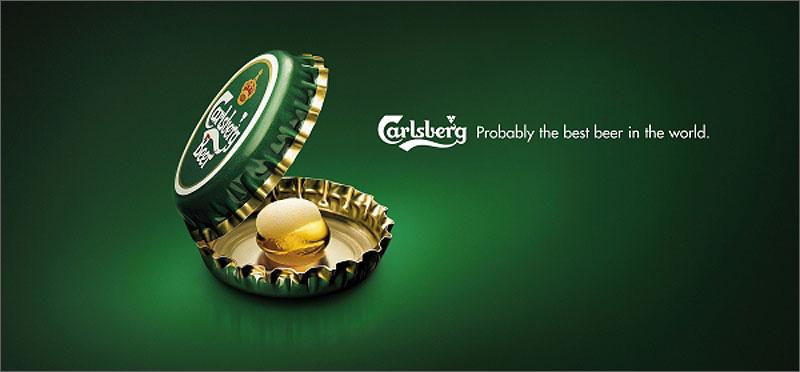 Carlsberg Pearl - Poster e Print advertising