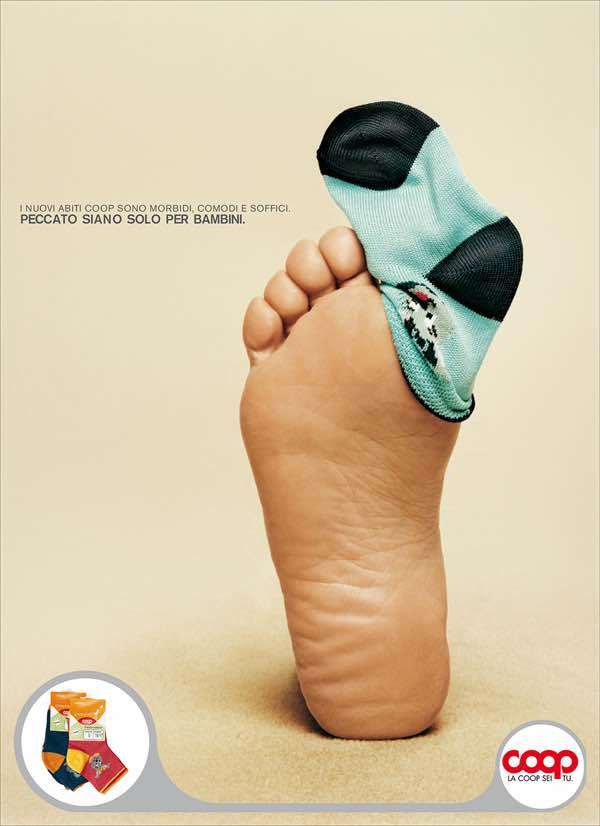Coop Child - Print advertising