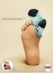 poster coop italia pubblicità coop intelligente diego fontana copywriter