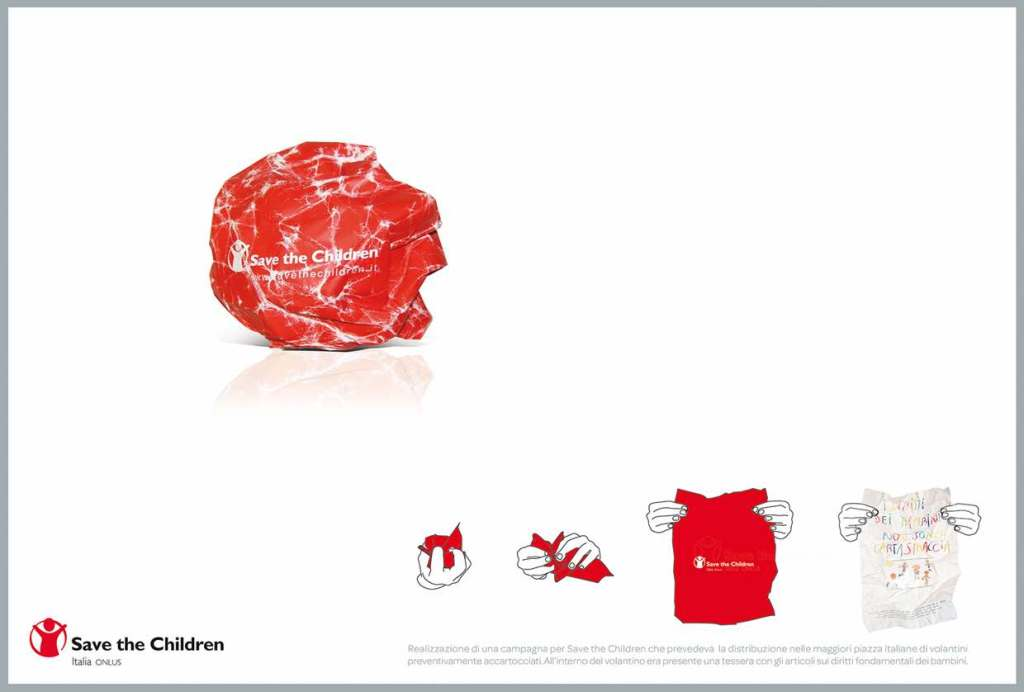 Save the children - Guerrilla