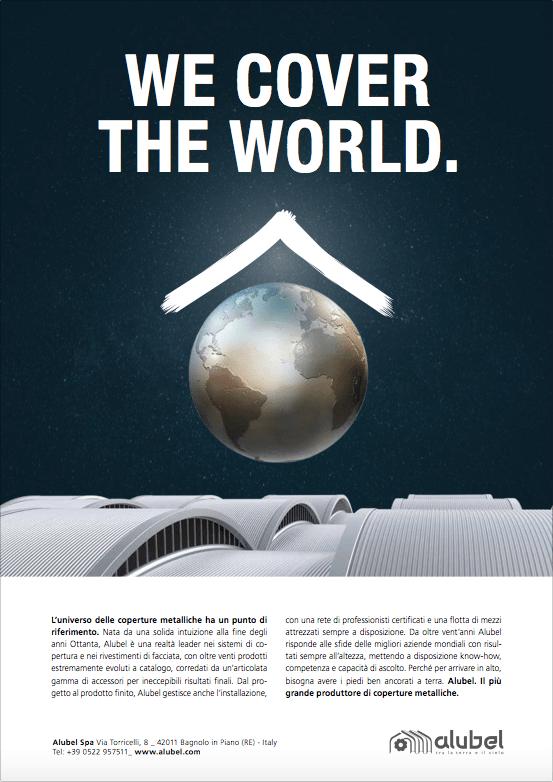 Campagna pubblicitaria per Alubel pagina stampa