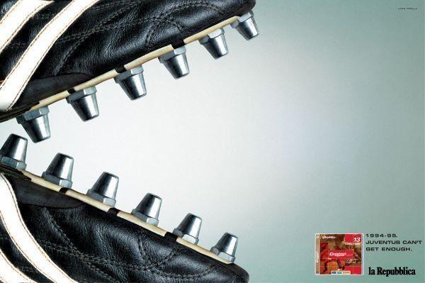 La Repubblica per Juventus - Print advertising