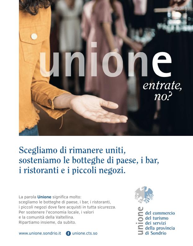 Campagna integrata per Unione CTS Sondrio