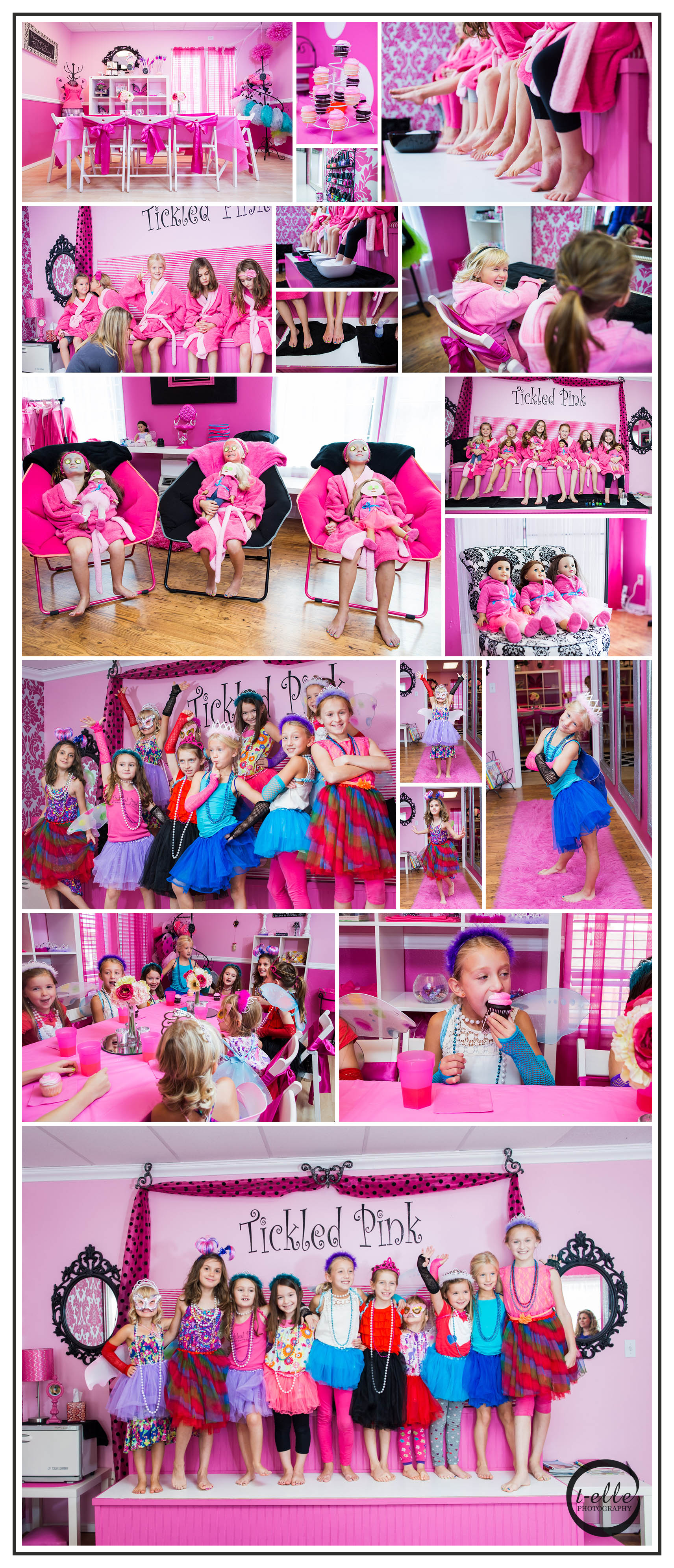 Girly Girl Party At Tickled Pink Bothell Photographer